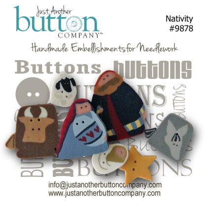 JABCo Button Collections9878 Nativity