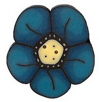JABCo Crayon Box Collectioncb1002.L Large Teal Wildflower
