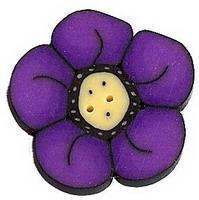 JABCo Crayon Box Collectioncb1005.L Large Violet Wildflower