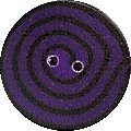 JABCo Crayon Box Collectioncb1019 T Tiny Violet & Black Swirl
