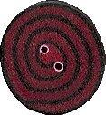 JABCo Crayon Box Collectioncb1020 T Tiny Strawberry & Black Swirl