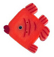 JABCo Crayon Box Collectioncb1021.L Large Orange Fish