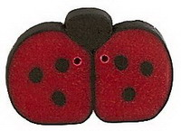 JABCo Fauna  1104.M Medium Red Ladybug
