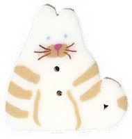 JABCo Fauna  1150.S Small White Cat