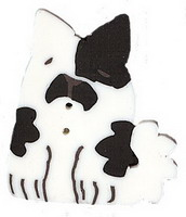 JABCo Fauna  1178.L Large White Spotted Dog