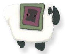 JABCo Fauna1242 Wooly Pink Quilt Sheep