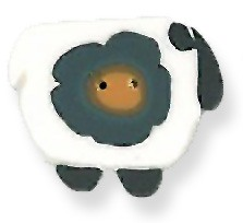 JABCo Fauna1243 Wooly Flower Sheep