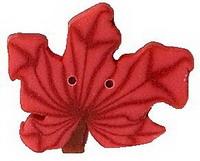 JABCo Flora  2273.L Large Orange Maple Leaf
