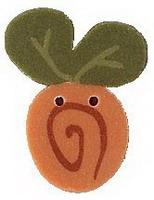 JABCo Flora  2309.S Small Pumpkin Swirly Bud