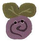 JABCo Flora  2311.T Tiny Lavender Swirly Bud