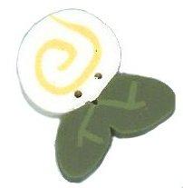 JABCo Flora2357.S Small Cream White Swirly Bud