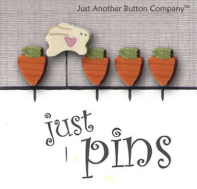 JABCo Just Pins  JP114 Carrot Patch