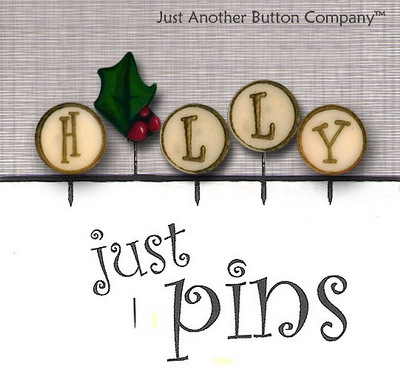JABCo Just Pins  JP137 H Is For Holly