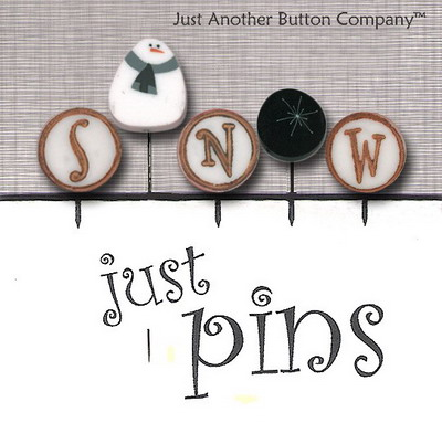 JABCo Just Pins  JP147 S Is For Snow