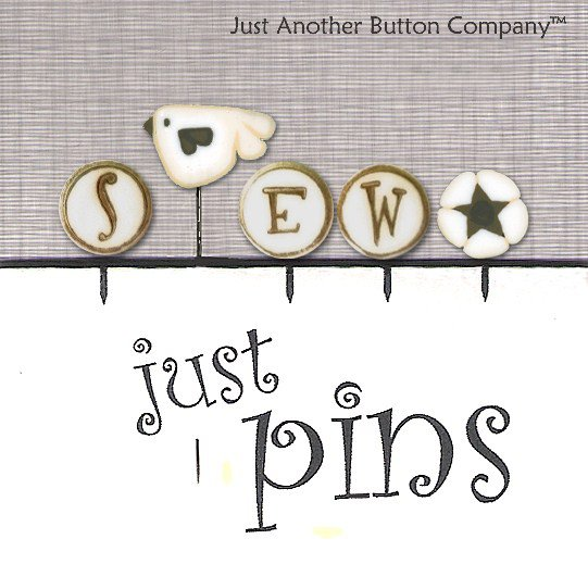 JABCo Just Pins JP153 S Is For Sew