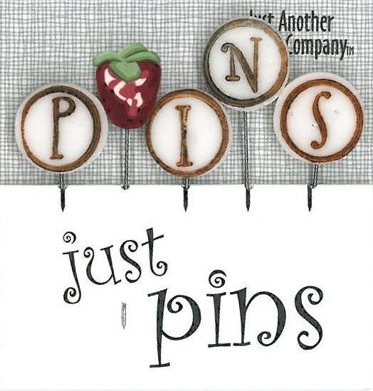 JABCo Just Pins  JP155 P Is For Pins ~ Strawberry
