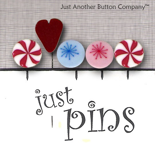 JABCo Just Pins  JP157 Peppermint Holiday