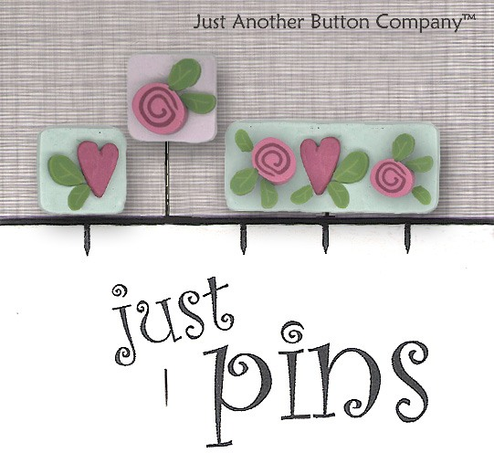 JABCo Just Pins  JP164 Hearts & Flowers
