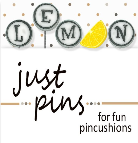 JABCo Just Pins  JP188 L Is For Lemon