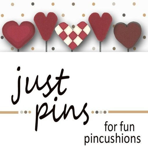 JABCo Just Pins  JP182 Heart Assortment