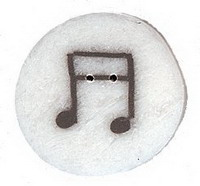 JABCo Lemonade Collectionlc1041.L Large Musical Notes Collection