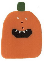 JABCo Mosey 'N Me Collectionmm1007.L Large Toofy Mouth Pumpkin