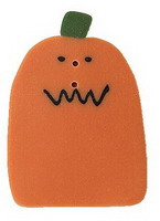 JABCo Mosey 'N Me Collectionmm1008.L Large Squiggle Mouth Pumpkin