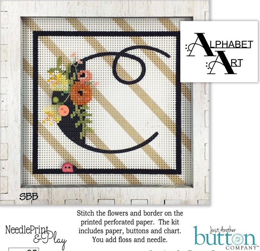 JABCo NeedlePrint & Play  NPP05 Alphabet C Kit
