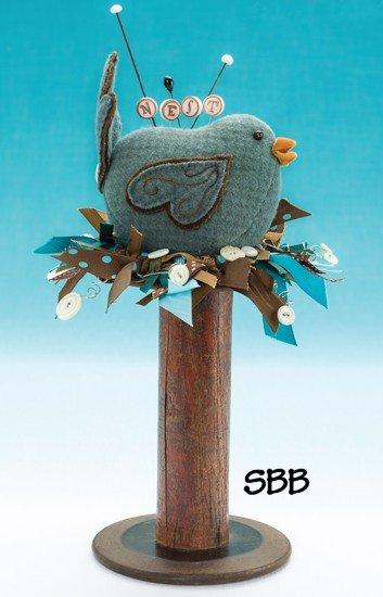 JABCo Pincushion Appeal  F701 Nesting Bird Fabric Kit