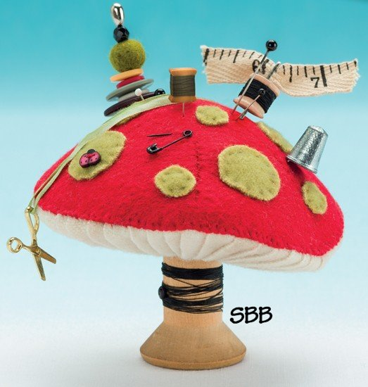 JABCo Pincushion Appeal  F702 Measuring Mushroom Fabric Kit