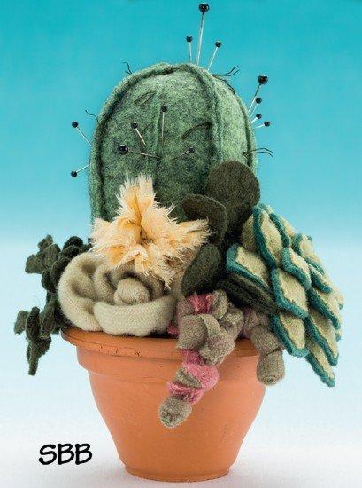 JABCo Pincushion Appeal  F709 Succulent Garden Fabric Kit