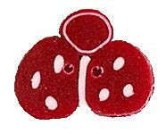 JABCo Red & White Collectionrw1011.S Small Ladybug