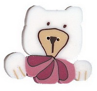 JABCo Seasonal  4448 Pink Bear Buddy