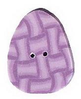 JABCo Seasonal  4470.S Small Lavender Egg