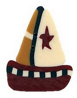 JABCo Seasonal  4502.L Large Toy Boat