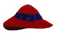 JABCo Seasonal  4536.S Small Red Hat