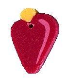 JABCo Seasonal  4563.S Small Ruby Bauble