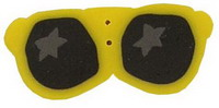 JABCo Seasonal  4618.L Large Yellow Sunglasses