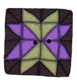 JABCo Seasonal  4632.S Small Lilac & Green Quilted Star