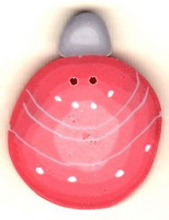 JABCo Seasonal  4653.L Large Retro Coral Ornament
