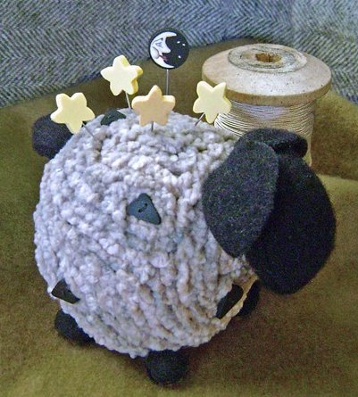 JABCo Sewing Patterns P1020 Over The Moon For Ewe Pincushion