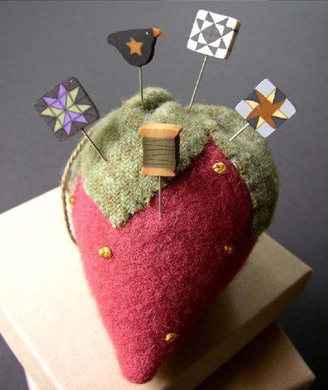 JABCo Sewing Patterns P1026 Strawberry Pincushion