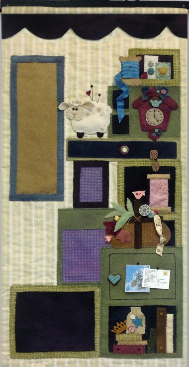 JABCo Sewing Patterns P1047 Tuffet's Cupboard Part Two