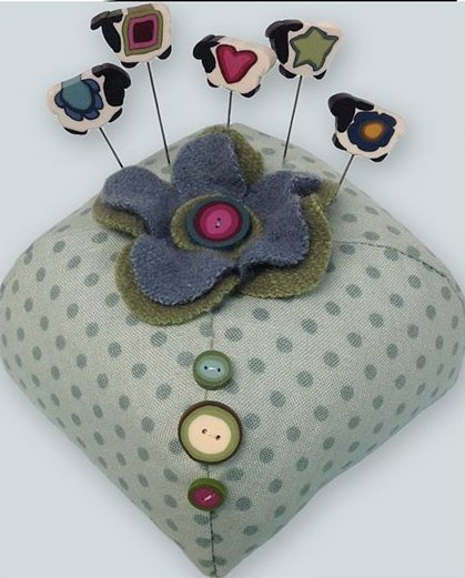 JABCo Sewing Patterns P1048 Shepherd's Hill Pincushion