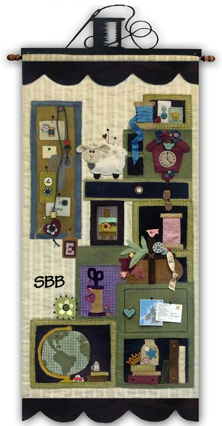 JABCo Sewing Patterns  P1050 Tuffet's Cupboard Quilt Part Four