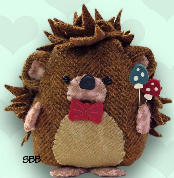 JABCo Sewing Patterns  P1051 Horace Hedgehog Pincushion