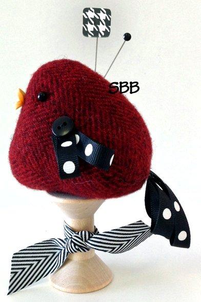 JABCo Sewing Patterns  P1052 Wooly Bird Pincushion