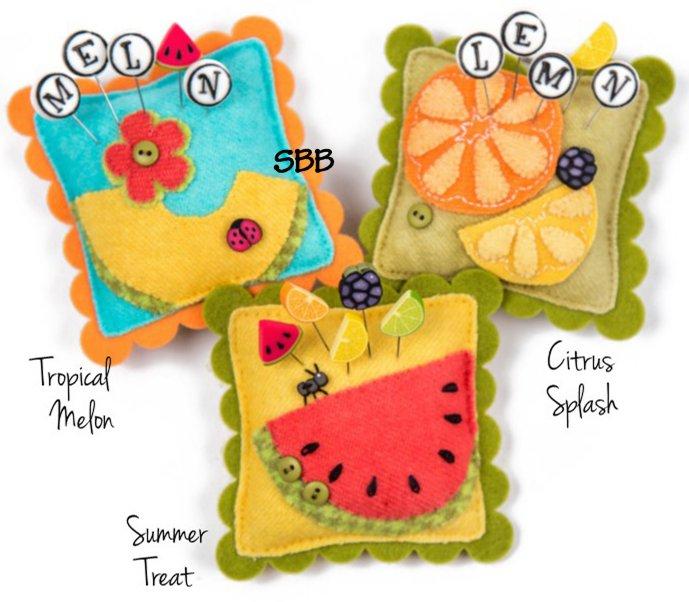 JABCo Sewing Patterns  P1056 Sliders ~ Juicy Fruits