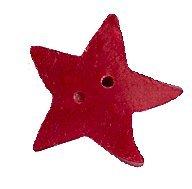 JABCo Shapes  3319.M Medium Red Star