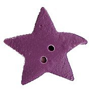 JABCo Shapes  3328.M Medium Lilac Star